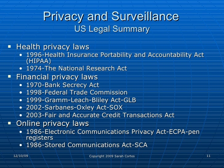 Electronic Communications Privacy Act of 1986 (P.L. 99-508)