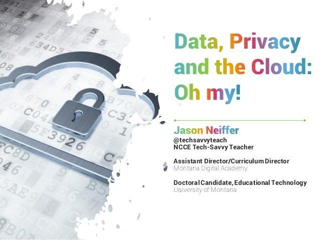 @techsavvyteach NCCE Tech-Savvy Teacher Assistant Director/Curriculum Director Montana Digital Academy Doctoral Candidate,...
