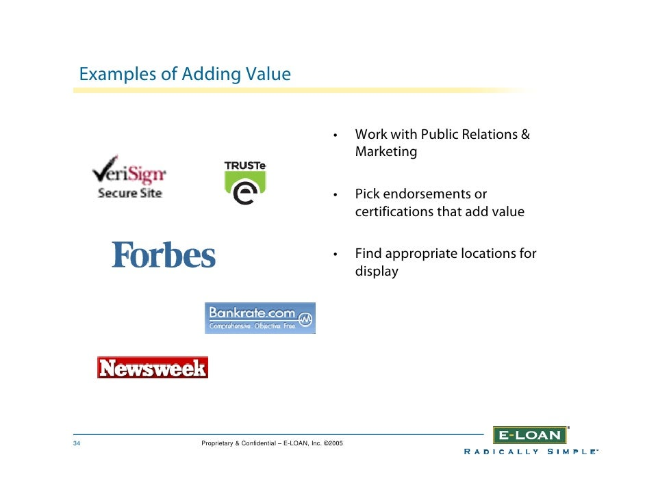Examples of Adding Value                                                            •      Work with Public Relations &   ...