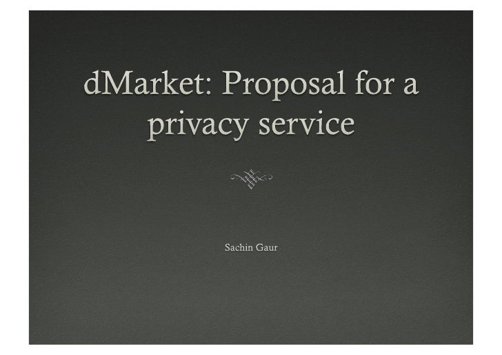   Private data of users is stored by service providers.   Learning of user data/behavior is done by service providers  ...