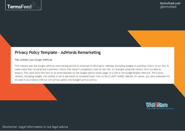 Privacy Policy for Google Analytics