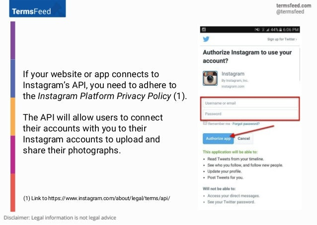 Privacy Policy Url For Instagram