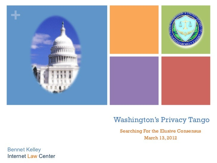 +                      Washington's Privacy Tango                       Searching For the Elusive Consensus               ...