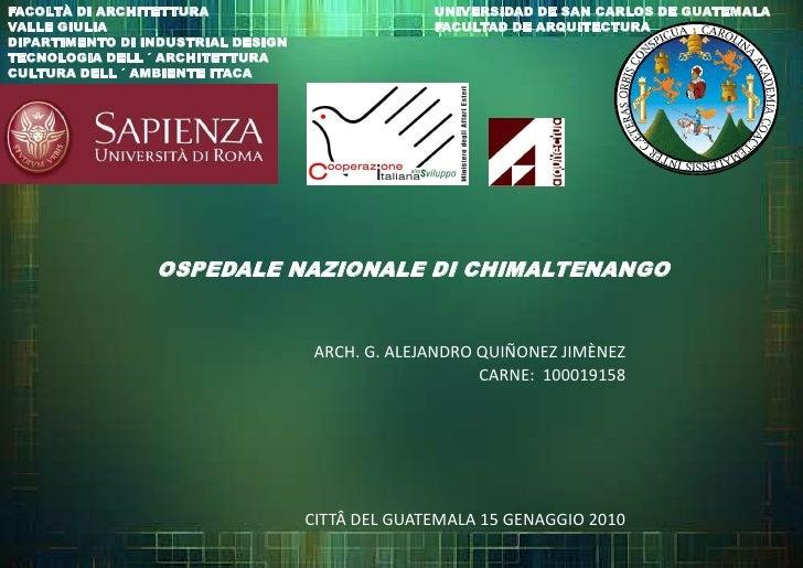 FACOLTÀ DI ARCHITETTURA <br />VALLE GIULIA<br />DIPARTIMENTO DI INDUSTRIAL DESIGN<br />TECNOLOGIA DELL ´ ARCHITETTURA<br /...