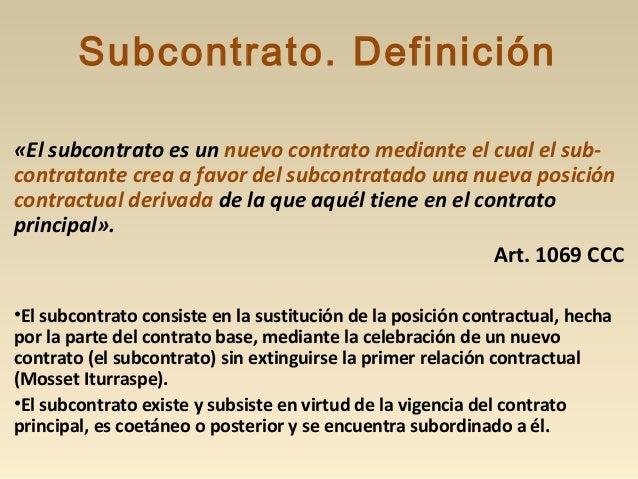 Interpretación y Efectos «Los contratos conexos deben ser interpretados los unos por medio de los otros, atribuyéndoles el...