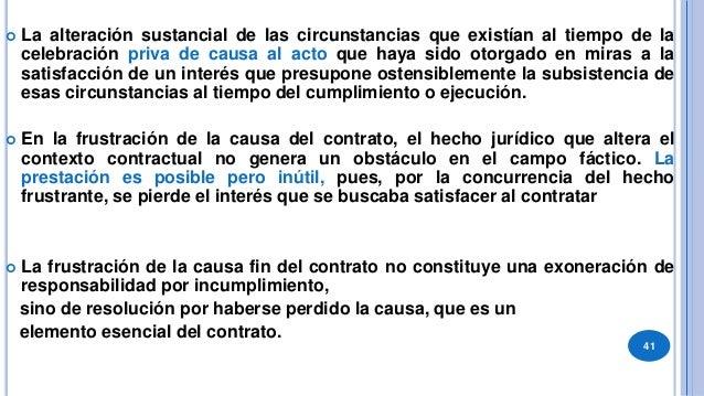 42 Requisitos de aplicación (Rivera) 1. Que el contrato sea bilateral, oneroso y conmutativo. 2. Aplicación a los contrato...