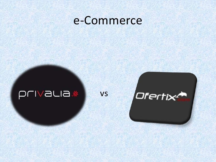 e-Commerce<br />vs<br />