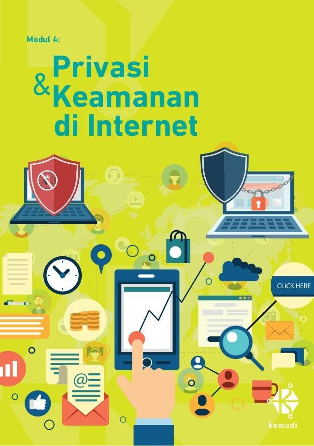 Modul 4: Privasi Keamanan di Internet &