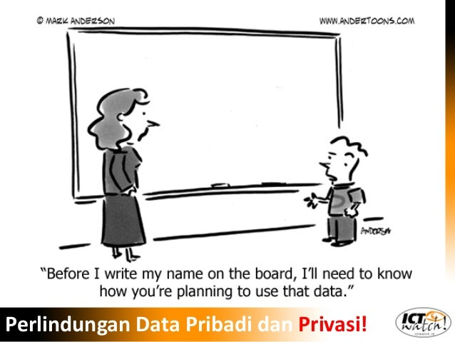 Donny B.U. | ICT Watch Perlindungan Data Pribadi dan Privasi!