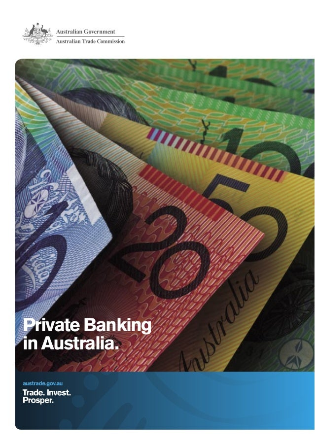 Private Banking in Australia.