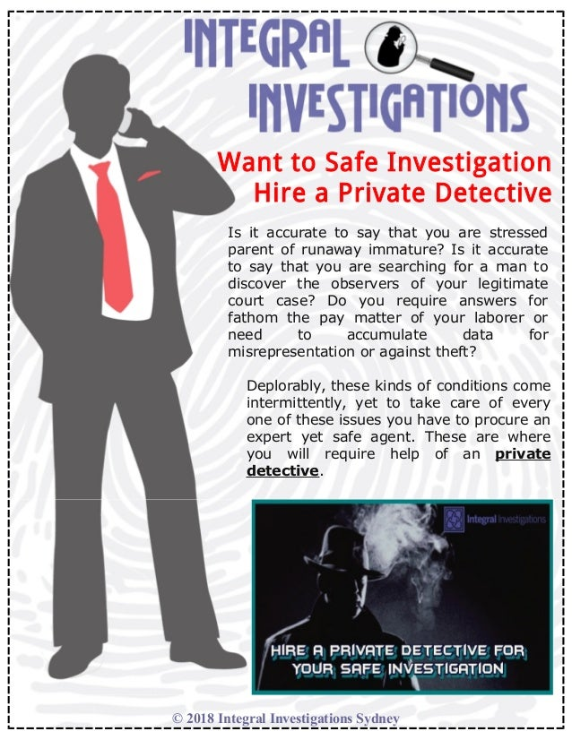 Hire a Private Detective