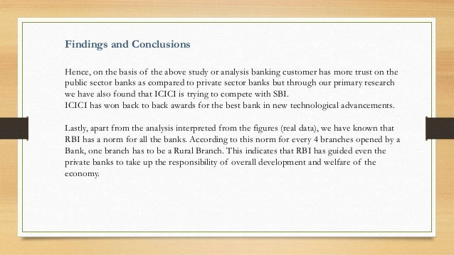 comparison of public and private banks 2016-10-5 key words: customer satisfaction, private sector banks, public sector banks,  defined service quality as the customer's comparison between service expectation.