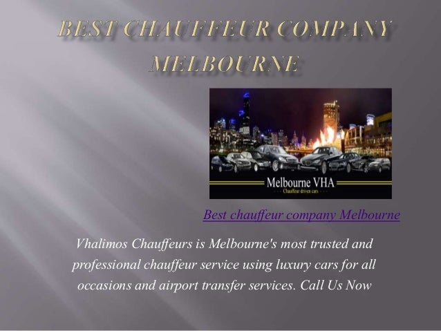 Vhalimos Chauffeurs is Melbourne's most trusted and professional chauffeur service using luxury cars for all occasions and...
