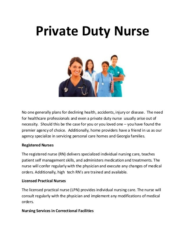 Private duty nurse 1 638gcb1404348367 private duty nurse no one generally plans for declining health accidents injury or disease yadclub Image collections