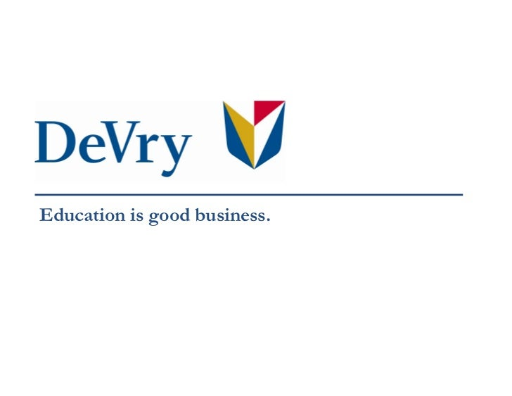 devry inc Once a large for-profit institution, devry is now being handed over to a company that runs a small college with 600 students experts see the move as a sign of the times.