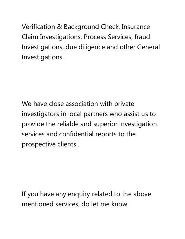 Private Investigations In Yemen