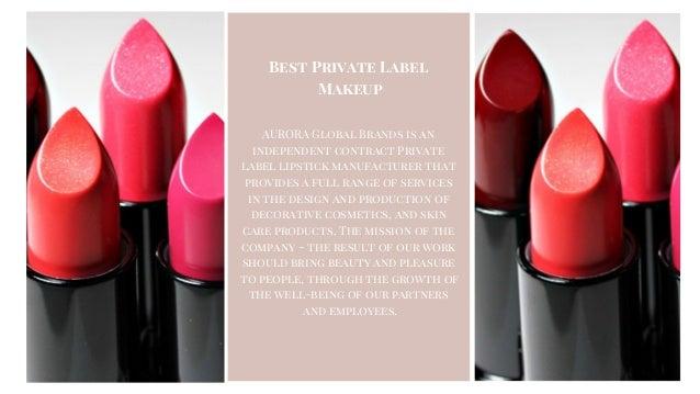 Foremost Private Label Lipstick Manufacturers