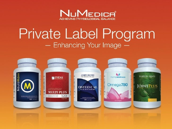 Your Name. Our Quality.                                  Private Label Program                                  Your pract...