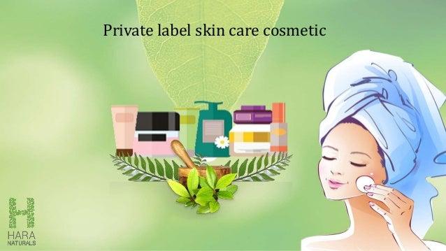 Private label skin care cosmetic