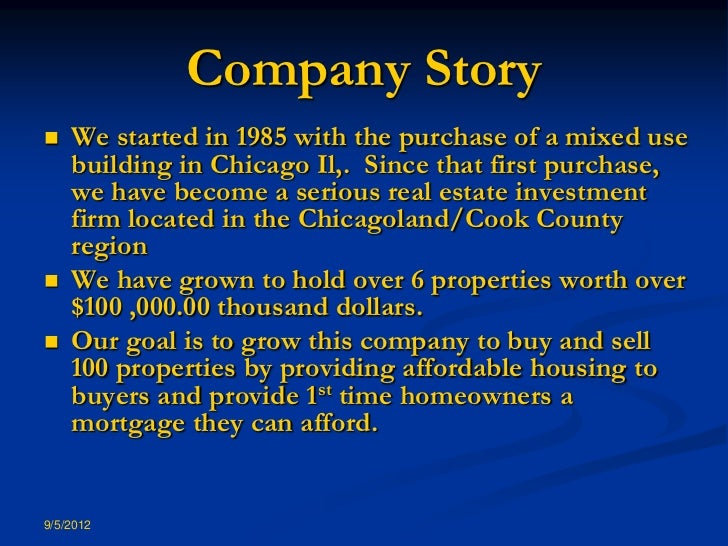 Private Mortgage Investments Secured By Real Estate