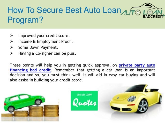 Bad Credit Car Loans With Minimum Down Payment