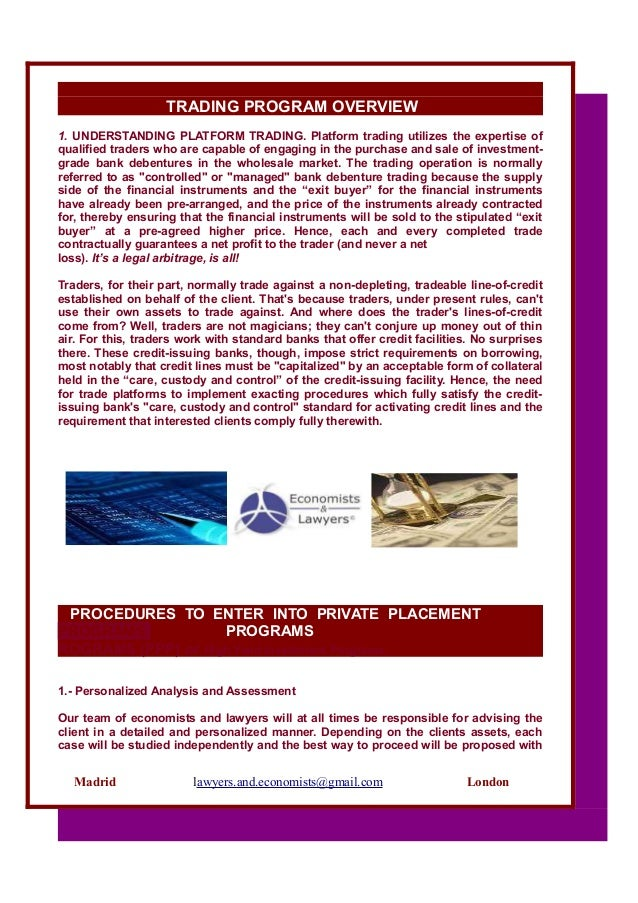 private trading platforms medium term notes