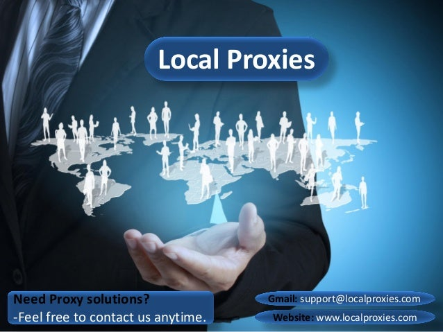 Need Proxy solutions? -Feel free to contact us anytime. Local Proxies Website: www.localproxies.com Gmail: support@localpr...