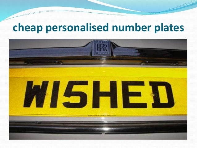 95 cheap personalised number plates under 99 the plate. Black Bedroom Furniture Sets. Home Design Ideas
