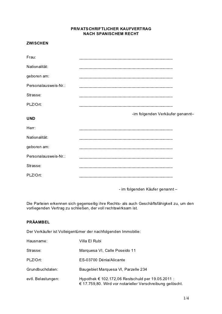 Allgemeiner Kaufvertrag Wwwpicswecom