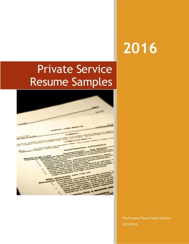 2016 The Personal Touch Career Services 8112016