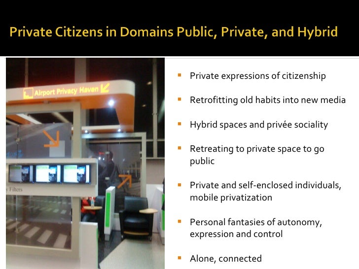 <ul><li>Private expressions of citizenship </li></ul><ul><li>Retrofitting old habits into new media </li></ul><ul><li>Hybr...