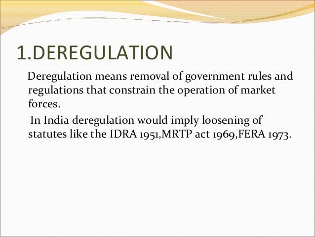 an argument against the deregulation of electricity production and distribution Deregulation: the mantra of  and bush now brings all the lowest forms of energy production into the mainstream debate,  that's why deregulation-not only of.