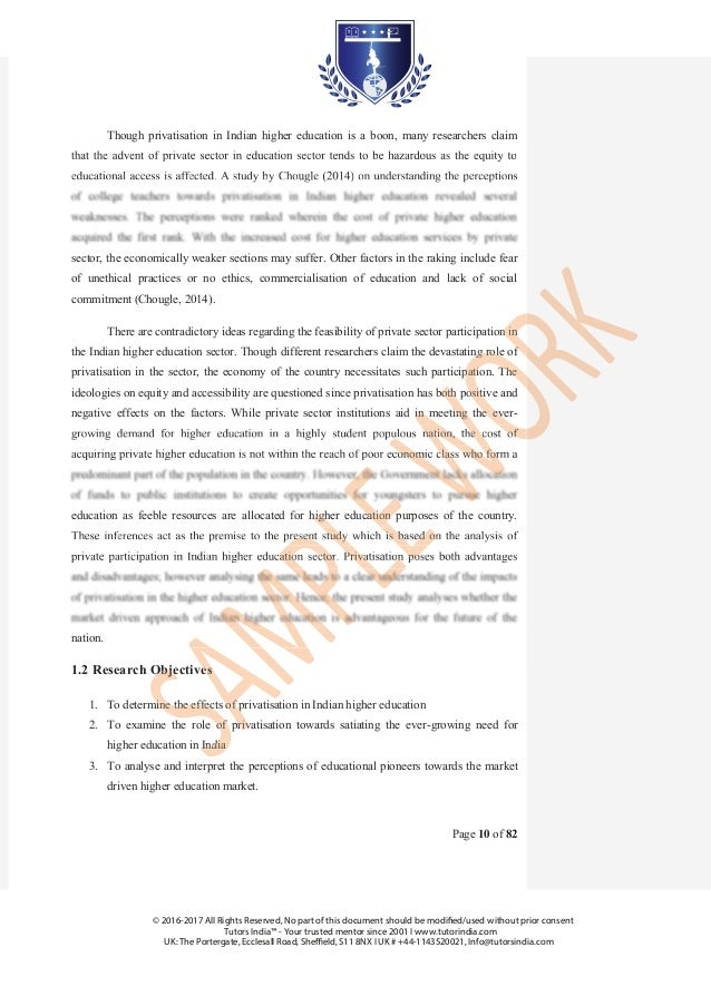 project proposal on quality education
