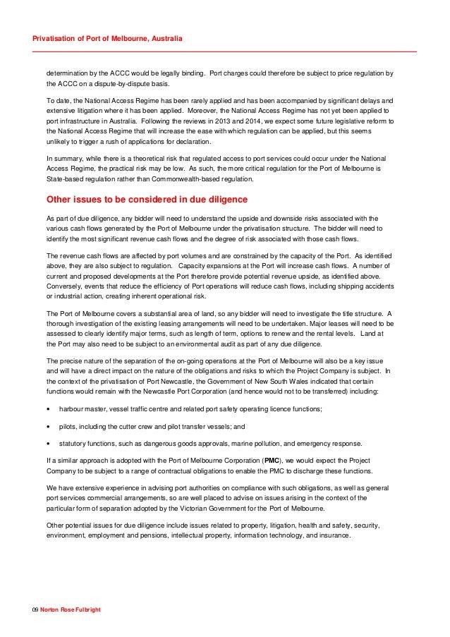 Privatisation of port of melbourne australia any 9 spiritdancerdesigns Choice Image