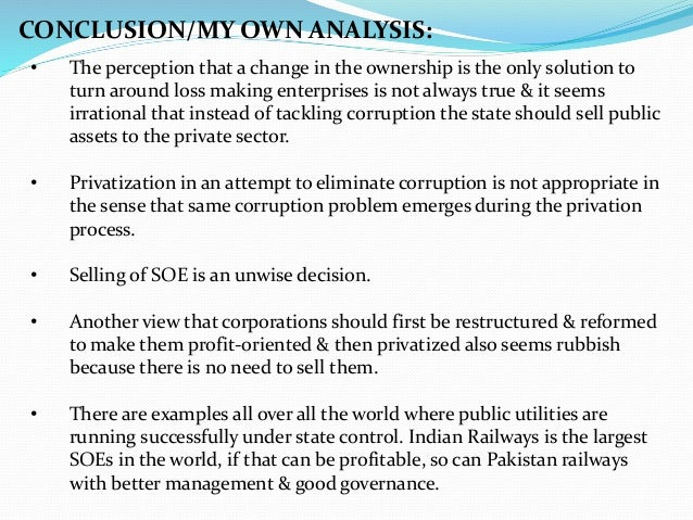 history of privatization in pakistan Privatization in pakistan under various government regimes history of privatization the concept of privatization is not new to the policy makers of this country in 1950s, pakistan industrial development corporation (pidc.