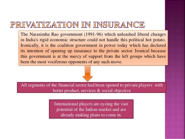 privatisation of insurance