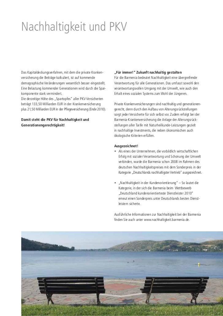 """Nachhaltigkeit und PKVDas Kapitaldeckungsverfahren, mit dem die private Kranken-         """"Für immer!"""" Zukunft nachhaltig g..."""