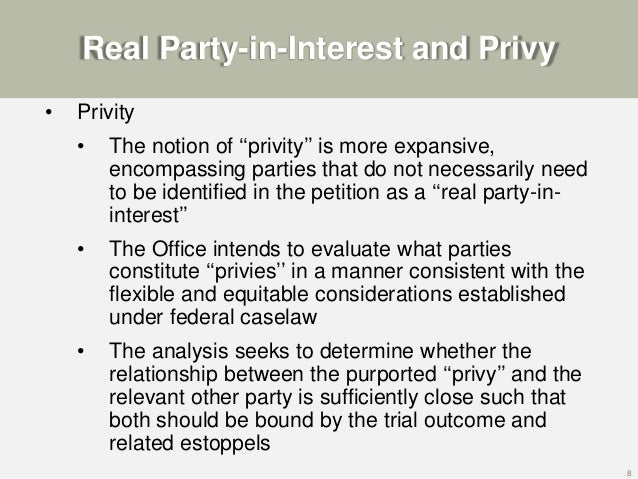 the relationship between privity and consideration