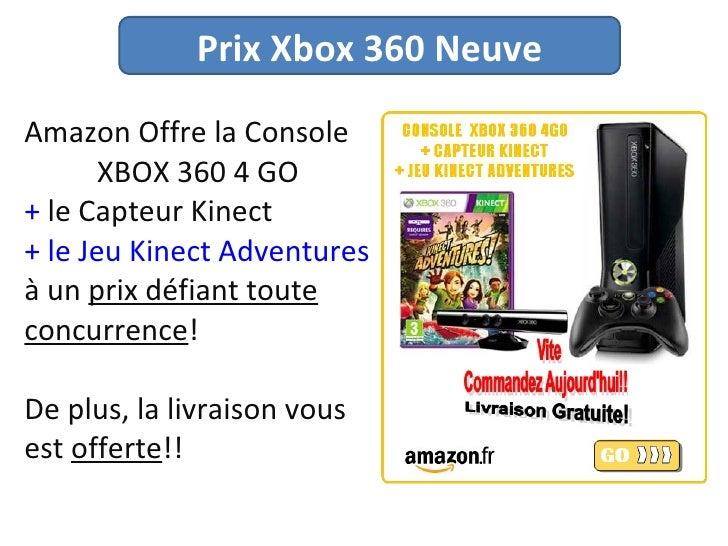 prix xbox 360 neuve