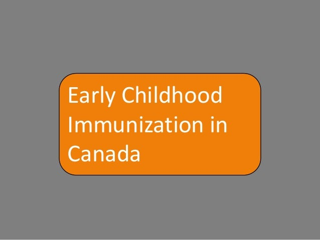 the controversial parental decision of disregarding childhood vaccinations and immunizations Collide-a-scape « kennedy's new  involved in immunizations have closely followed and evaluated  the safety of routine childhood vaccinations that.