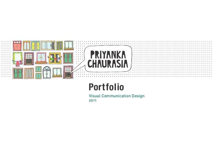 PortfolioVisual Communication Design2011