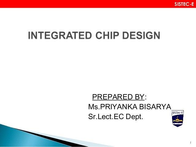 PREPARED BY: Ms.PRIYANKA BISARYA Sr.Lect.EC Dept. 1 SISTEC-E