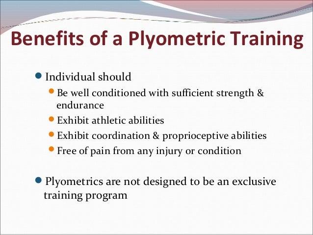 Plyometrics and types of Periodisation)