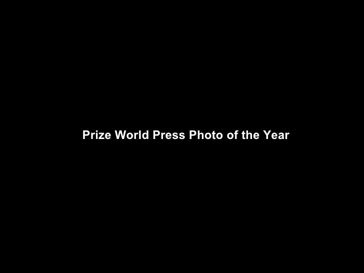 Prize World Press Photo of the Year