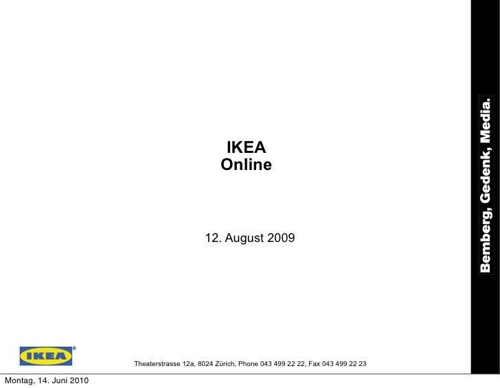 IKEA                                                   Online                                                 12. August 2...