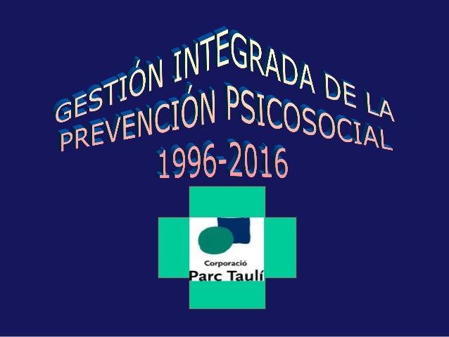 RIESGO PSICOSOCIAL DISTRÉS MALESTAR PSÍQUIC0 TRASTORNOS PSICOSOMÀTICOS FACTORES PREVENCIÓN