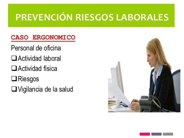 Prevenci n riesgos laborales for Prevencion riesgos laborales oficina