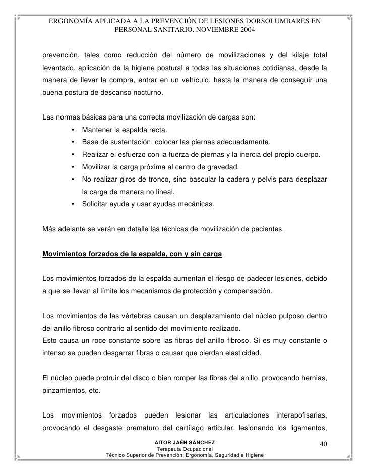 Prevenci N Dolores Espalda En Movilizaci N De Pacientes