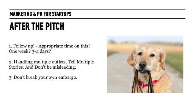 Marketing + PR for Startups: for General Assembly London October 2014 Slide 53