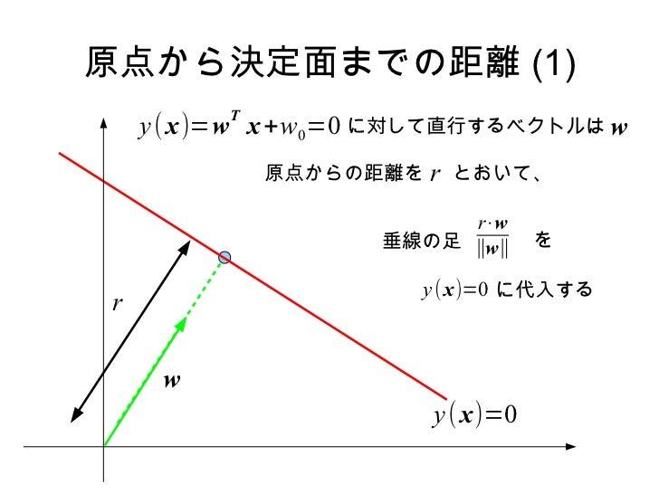 Prml 4.1.1 Slide 3